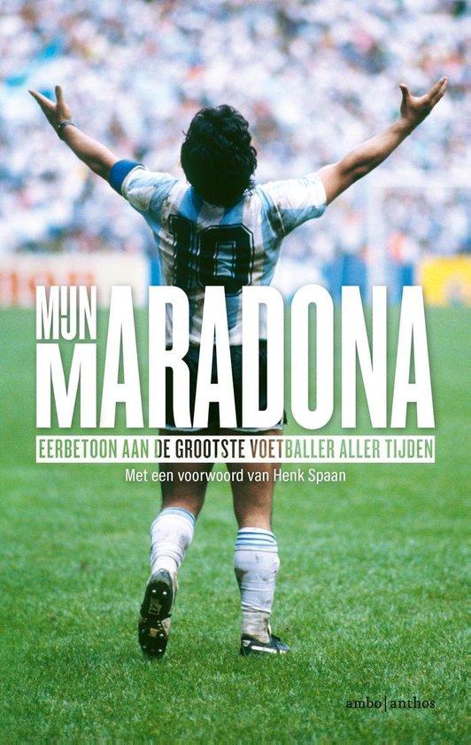 Boek cover Mijn Maradona van Henk Spaan (Paperback)