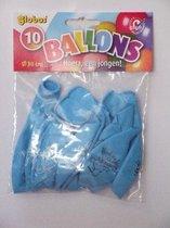 Globos Ballonnen geboorte jongen 10 stuks