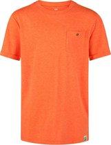 WE Fashion Regular Fit Jongens T-shirt - Maat 110/116 - Orange