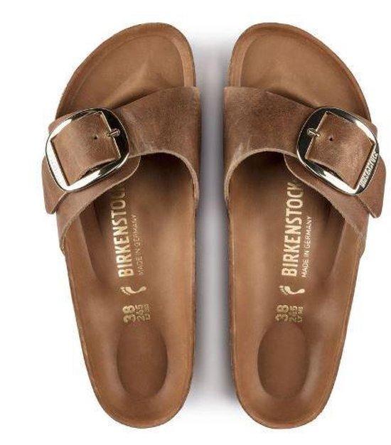 Dames schoenen   Birkenstock Madrid Dames Slippers Small fit