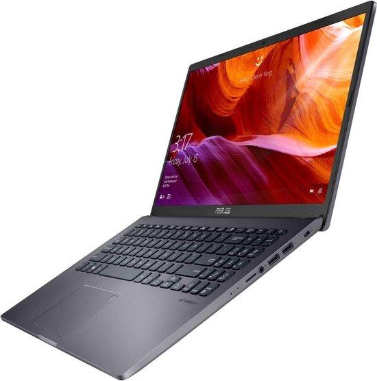 ASUS P509JA-BQ298R Notebook Grijs 39,6 cm (15.6'') 1920 x 1080 Pixels Intel® 10de generatie Core™ i3 8 GB 256 GB SSD Wi-Fi 5 (802.11ac) Windows 10 Pro