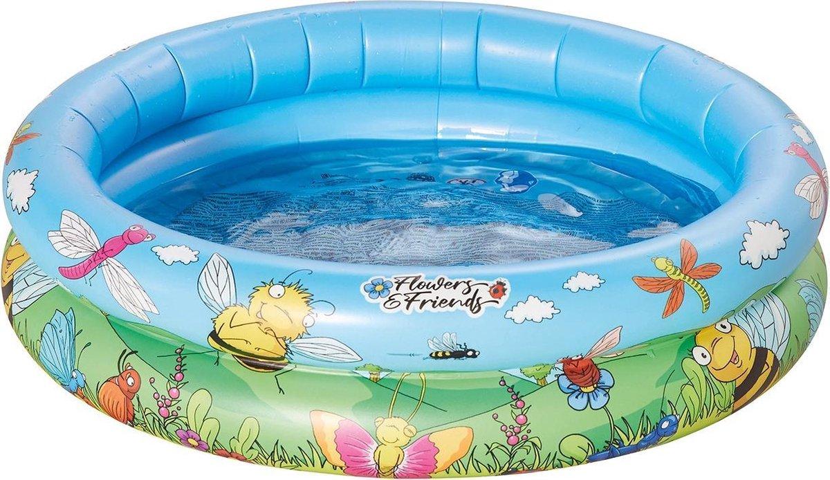 Happy People Opblaaszwembad Baby 74 X 18 Cm Blauw