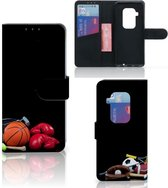 Motorola One Zoom Wallet Case met Pasjes Sports