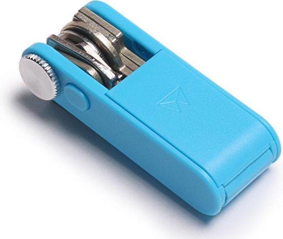 Walter Wallet Keyboss Bright Blue - Duurzaam ABS Plastic - Sleutelhouder - Key Boss