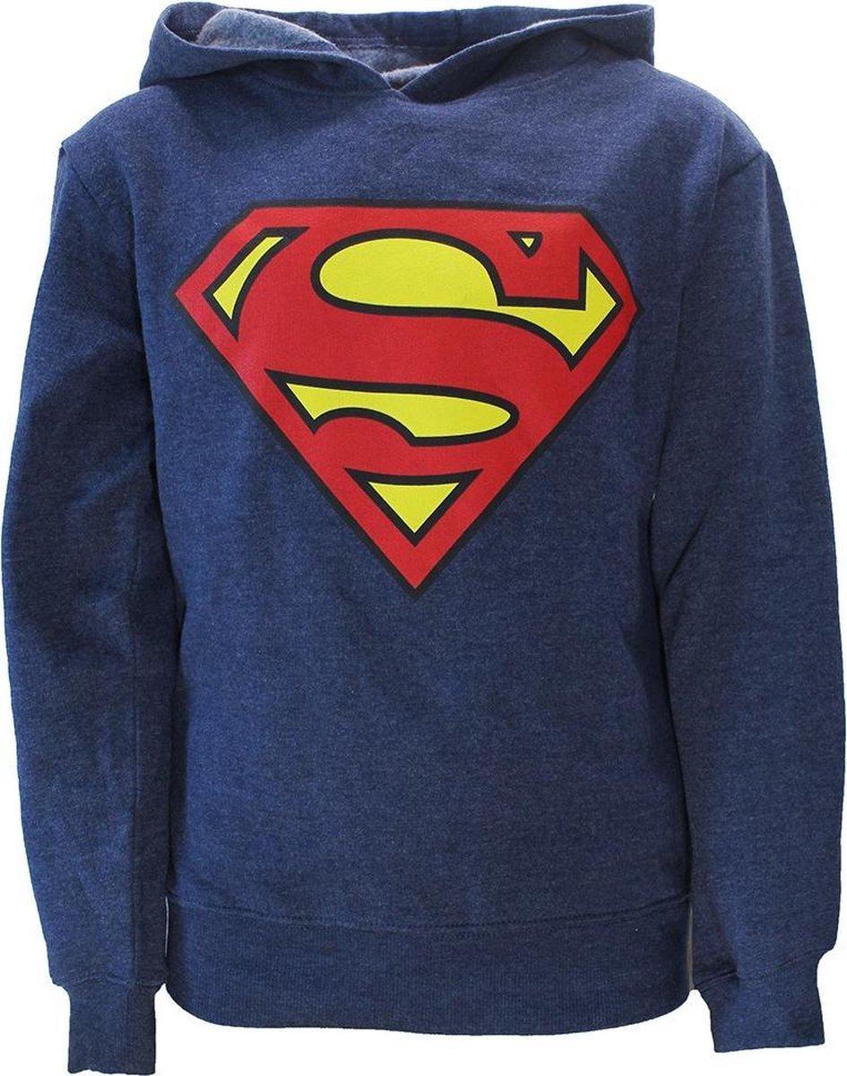 DC Comics Superman Kids Hoodie Sweater Grijs