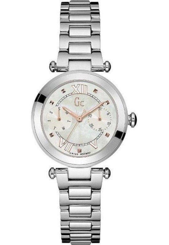Gc Watches – Y06010L1 – Horloges – Dames – RVS – Zilverkleurig – 32 mm