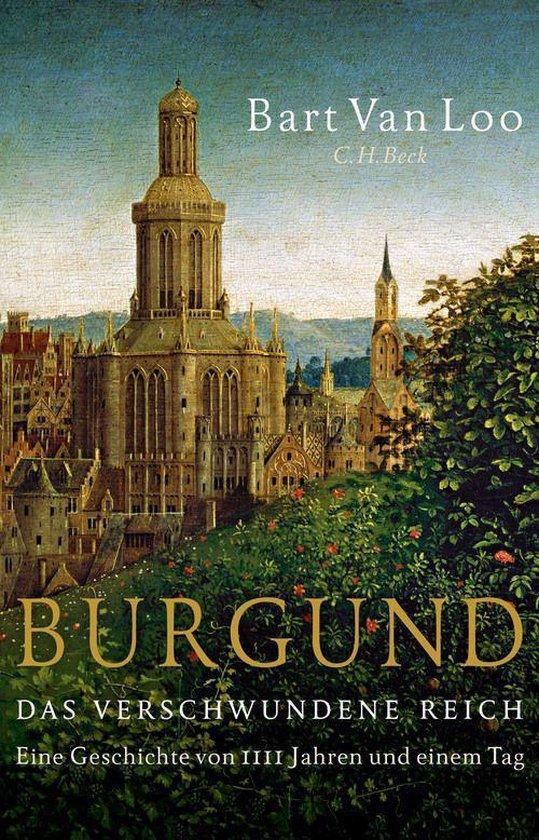 Boek cover Burgund van Bart van Loo (Onbekend)