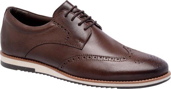 Galutti Handmade Leather Shoes - Sport Social  - Coffee - 44 (EU)