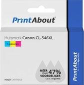 Huismerk Canon CL-546XL Inktcartridge 3-kleuren Hoge capaciteit