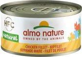 Almo Nature - Kipfilet - Kattenvoer - 24 x 70 g