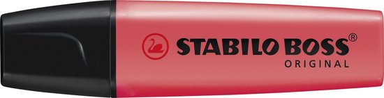 Stabilo Boss Original Markeerstift - Roze - 1 stuk