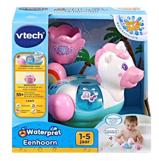 VTech Blub Blub Bad Waterpret Eenhoorn - Badspeelgoed