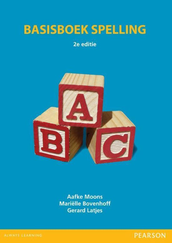 Basisboek spelling - Aafke Moons  