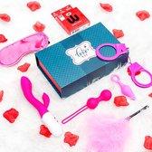 Easytoys Lovebox erotische geschenkset - 7 delig