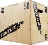 Tunturi Plyo Box - Houten fitness kist- 40/50/60 cm