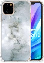 iPhone 11 Pro Back Cover Painting Grijs