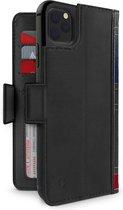 BookBook Case iPhone 11 Pro Max hoesje - Zwart