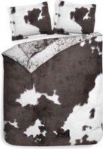 Heckett & Lane Sven - Dekbedovertrek - Tweepersoons - 200x200/220 cm + 2 kussenslopen 60x70 cm - Black/White