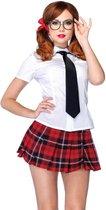 Sexy school uniform kostuum voor dames - Verkleedkleding - Medium