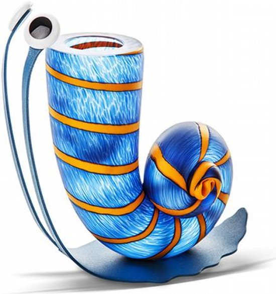SLOW JIM - Vase, klein, blauw