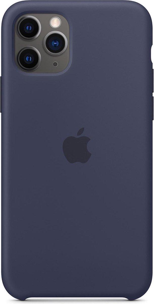 Apple Siliconen Hoesje voor iPhone 11 Pro - Middernachtblauw