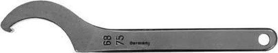 Haaksleutel met neus DIN1810A 58-62mm AMF