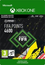 FIFA 20: Ultimate Team - 4.600 Fifa Points - In-Game tegoed - Xbox One
