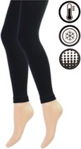 Dames Thermo Legging - Zwart - Maat L/XL