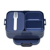 Mepal Bento Take a Break Lunchbox - Midi - Nordic denim