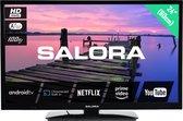 """Salora 3704 series 24HA3704 tv 61 cm (24"""") HD Smart TV Wi-Fi Zwart"""