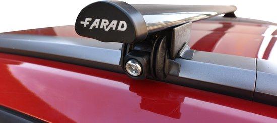 Farad Dakdragers - Kia Niro vanaf 2016 - Gesloten Dakrail - Staal
