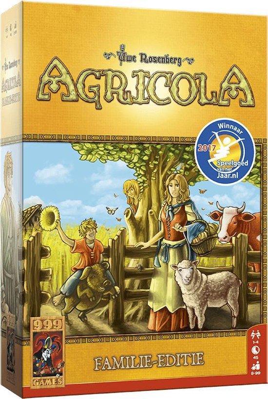 Agricola Familie-editie Bordspel