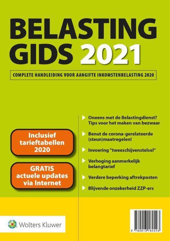 Boek cover Belastinggids 2021 van  (Paperback)