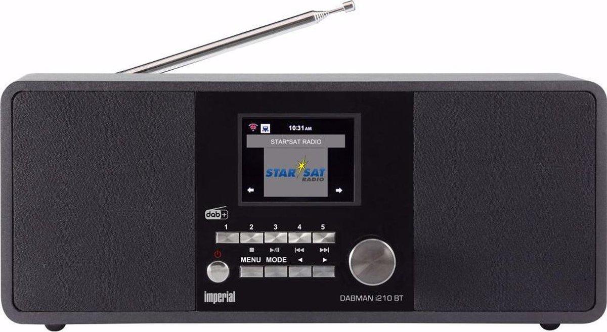Imperial DABMAN i210BT DAB+/Internet-radio met BlueTooth
