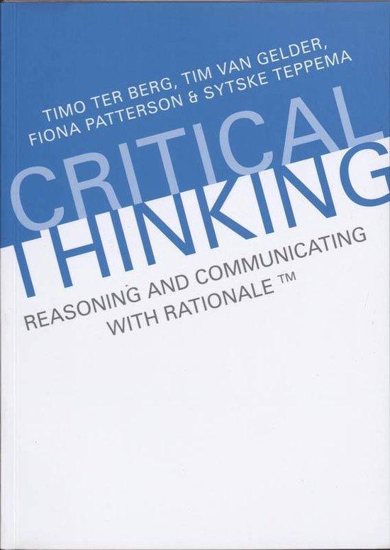 Critical Thinking *EL ed.*
