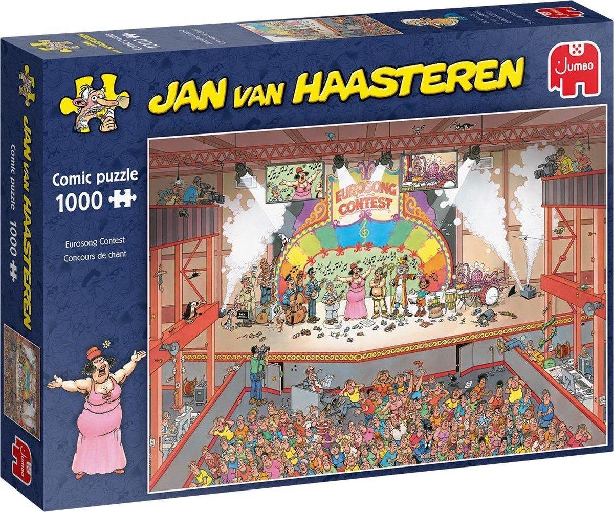 Jan van Haasteren Eurovisie Songfestival puzzel - 1000 stukjes