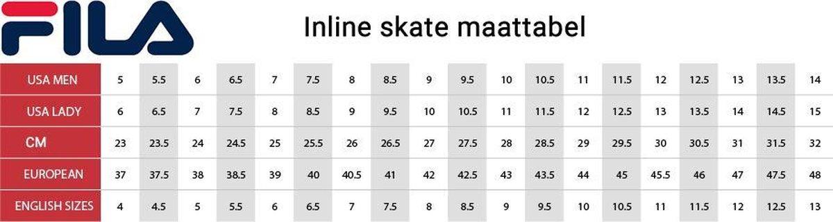 Fila Legacy lady pro inline skates 100 mm black/grey/green