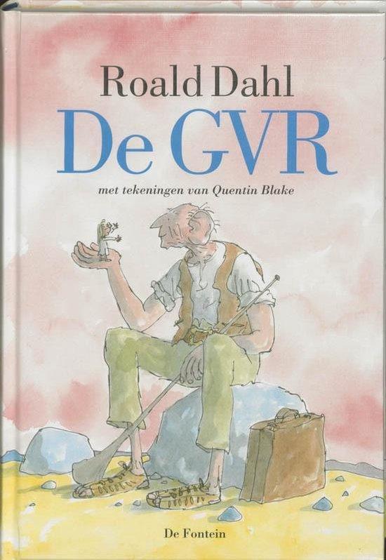 Boek cover De GVR van Roald Dahl (Paperback)