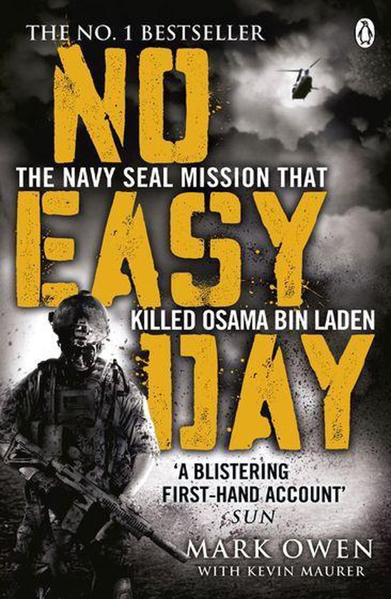 Boek cover No Easy Day van Mark Owen (Onbekend)