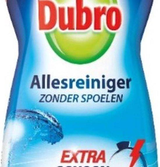 Dubro allesreiniger extra schoon - intens fris - 1000ml