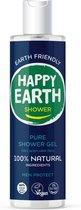 Happy Earth Pure Shower Gel Men Protect 300 ml - 100% natuurlijk