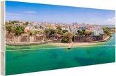 San Juan  Hout 120x80 cm - Foto print op Hout (Wanddecoratie)