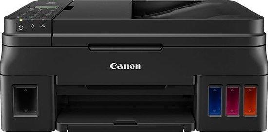 Canon PIXMA MegaTank G4511 - Multifunctionele Inkjetprinter - Zwart