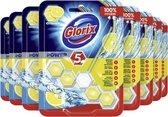 Glorix Wc Blok Power Citroen - 9 stuks Toiletblok - Voordeelverpakking