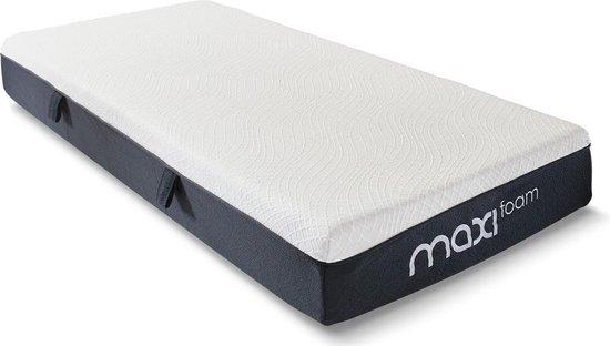 Maxi Foam Comfortschuimmatras met Traagschuim Toplaag - 180x200x23 cm -...