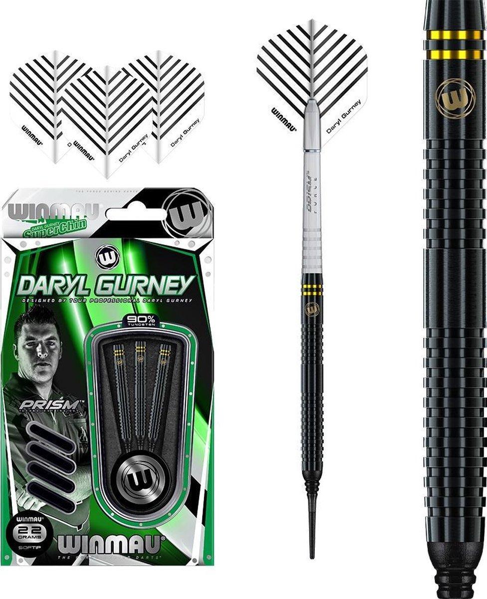 Winmau Daryl Gurney Black Edition 90% Soft Tip - 22 Gram