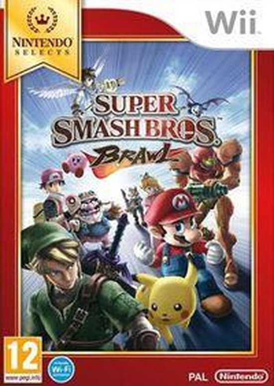 Super Smash Bros. Brawl -  Nintendo Selects - Nintendo
