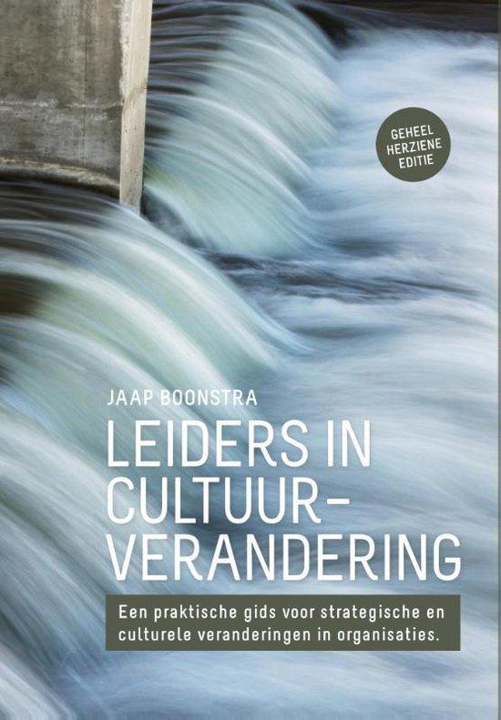 Boek cover Leiders in cultuurverandering van Jaap Boonstra (Paperback)