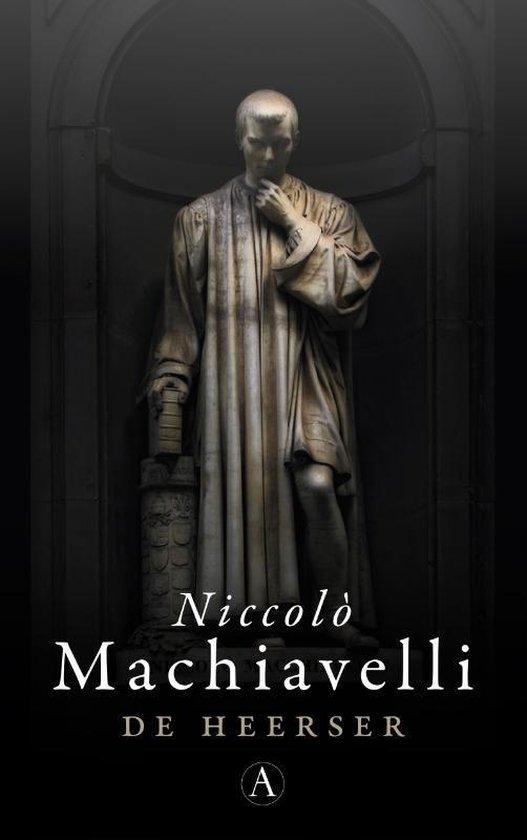Boek cover De heerser van Niccolò Machiavelli