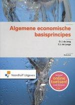 Boek cover Algemene economische basisprincipes van D.J. de Jong